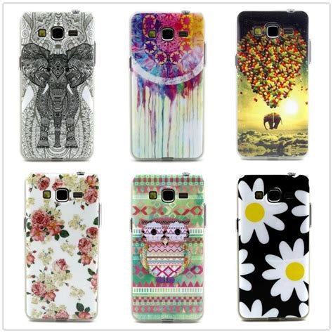 cute themes for samsung galaxy grand prime cute owl elephant balloon pattern design tpu soft case for