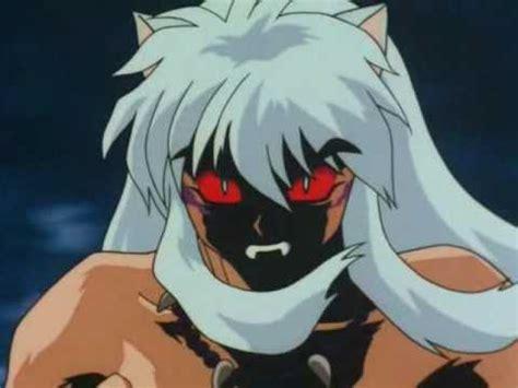 imagenes de halloween de inuyasha inuyasha y su transformacion en demonio youtube