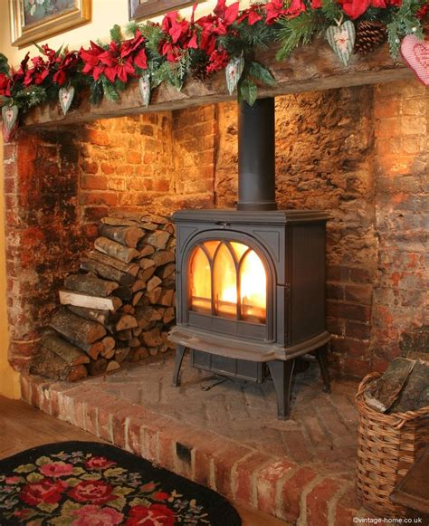 Christmas Inglenook Pottery Cottage Pinterest Lights In Fireplace