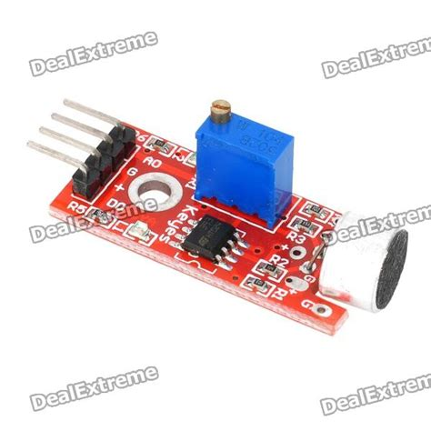 Arduino Sound Detection Module keyes microphone sound detection sensor module for arduino works with official arduino boards