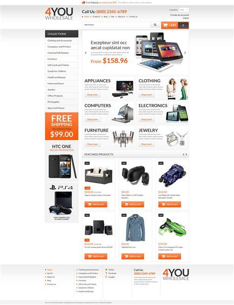shopify wholesale theme wholesale store responsive shopify theme 54840