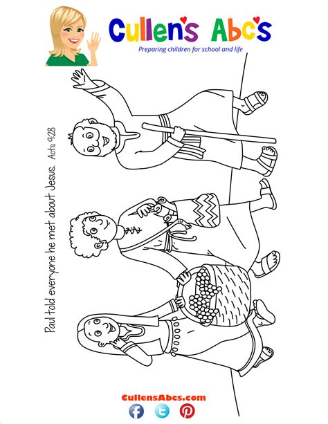 paul s second journey coloring page bible key point coloring page paul s journey preschool and children s by