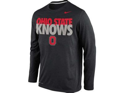 T Shirt Nike Claiborne Knows nike ncaa knows legend sleeve t shirt apparel at ohiostatebuckeyes