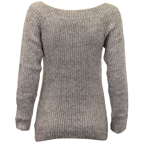 ladies boat neck jumper threadbare womens cable knitted - Boat Neck Ladies Jumpers