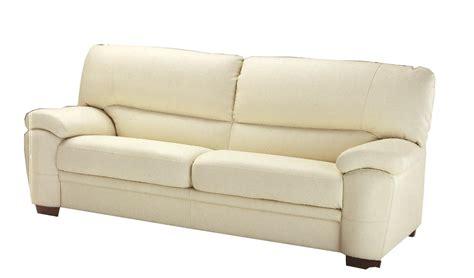 divano moderno 3 posti 210x90 h 91 in vera pelle