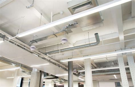 exposed ductwork exposed ductwork projects essex ventilation services