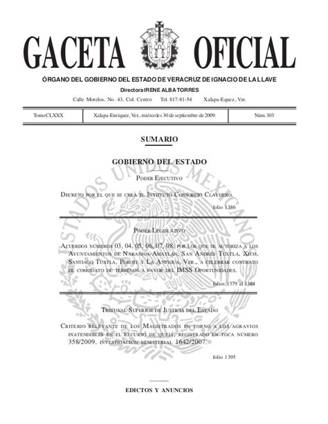 gaceta de verificacion estado de mexico gaceta del estado de mexico new style for 2016 2017