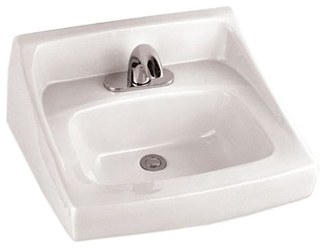 Commercial Sink Faucets Wall Mount by Toto Lt307 Cotton White Commercial Wall Mount Lavatory Ada