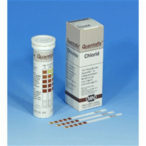 Sodium Chloride Shelf by Quantofix Chloride Quantofix Test Strips A M Charlton