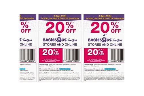 babies r us online coupon 2018