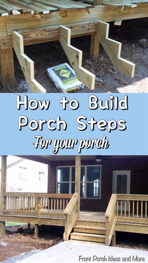 build steps   build  porch porch steps