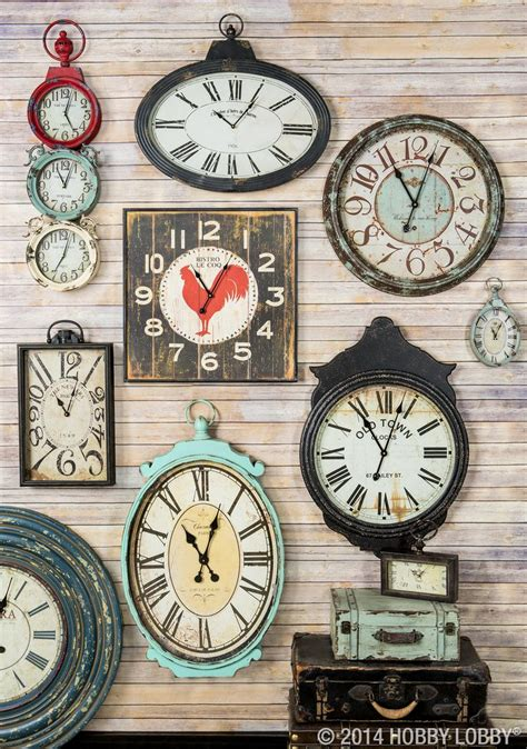 clocks decor 100 best images about gallery wall ideas on