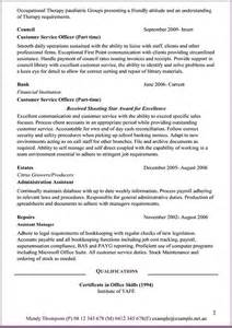 Job Promotion Resume by Administration Resume Example On Behance
