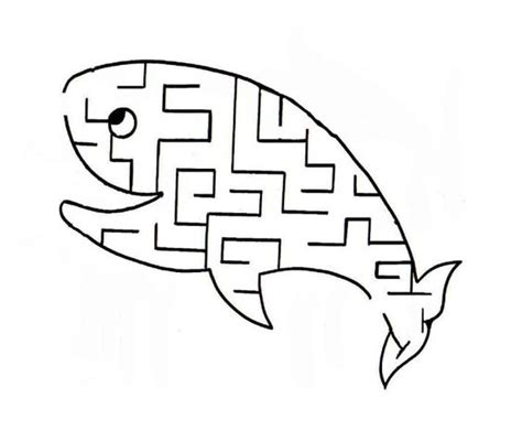 printable mazes christian walvis doolhof whale maze this site has lots of free