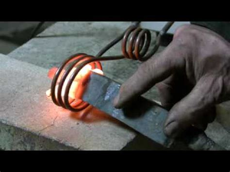 induction heater forge induction forge show and tell