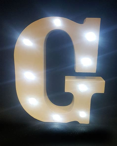 light up letters to buy buy wooden led light up letter white g from chair cover