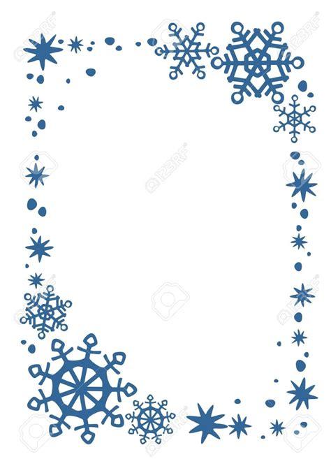 Snowflakes Clip Borders