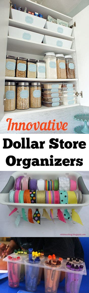 Dollar Store Hacks | 15 dollar store organizing ideas dollar stores home