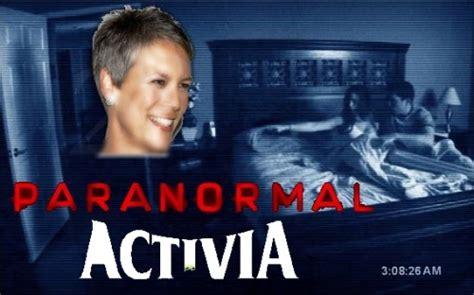 jamie lee curtis activia meme paranormal activity jamie lee curtis activia save the