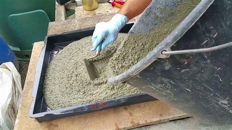 zement gehweg ideen betonplatten selber machen rheumri