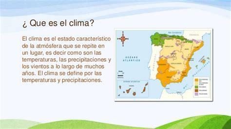 que es un pattern en español el clima de espa 241 a