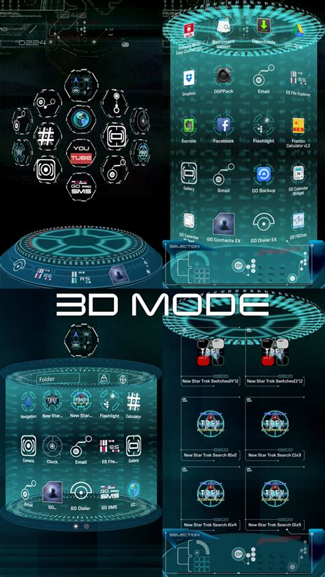 themes apps iphone 6 amazon com trek next launcher theme 3d basic