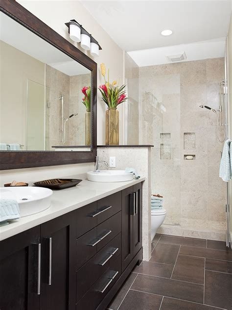 Superior Blue Glass Tile Bathroom #5: Grey_brown_bathroom_tiles_15.jpg