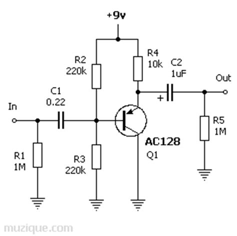transistor buffer power lifier amz germanium transistor buffer