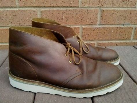 resoling clarks desert boots leather