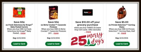 Kroger 12 Days Of Gift Cards - kroger 12 days of christmas my blog