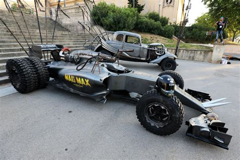 How To Make A F1 Car Out Of Paper - lotus f1 team creates awesome mad max homage f1 car