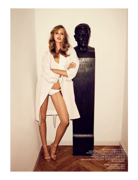 frida gustavsson for cover magazine april 2013 the fashionography