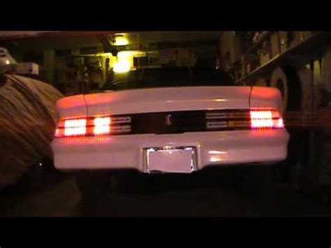 1978 camaro led tail lights, true sequential turn signals
