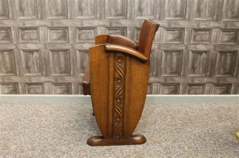 deco leather armchair deco leather armchair antiques atlas