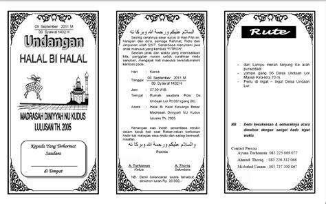 544 comunity undangan halal bi halal tahun 2011