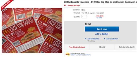 mcdonalds printable vouchers uk 2015 10 ways to eat for less at mcdonald s 10ways com