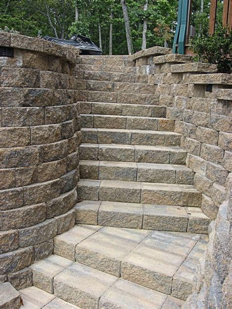 Retaining Wall Stairs Design Retaining Wall Stairs Design Garden Designs Retaining Walls Retaining Walls Portfolio Of