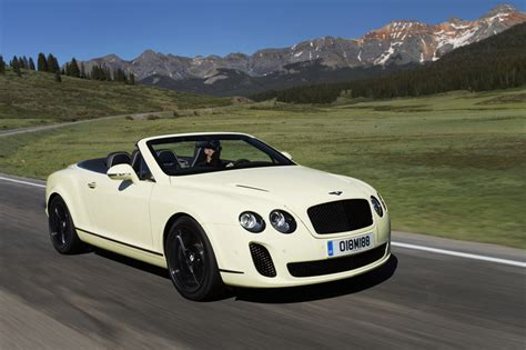 bentley supersports convertible bentley toont nieuwe foto s continental supersport convertible