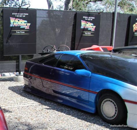 Back To The Future Ford by The Studiotour Universal Studios Studio