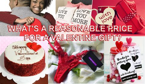 whats a valentines gift what s a reasonable price for a gift for your