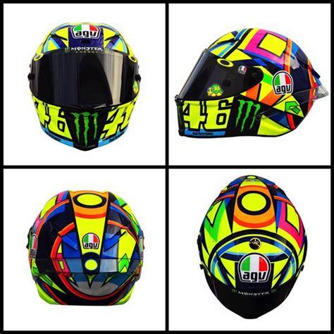 Rossi Helmet Design 2016 | valentino rossi s new 2016 motogp helmet valentino rossi