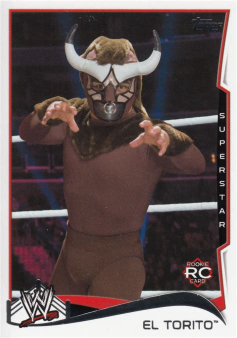 El Torito Gift Card - el torito 2014 topps wwe rookie card 31 wrestling cards