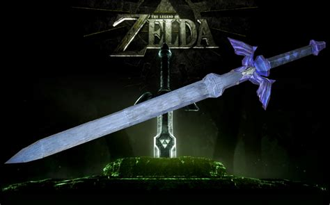 Papercraft Master Sword - tp master sword by sgonzales22 on deviantart