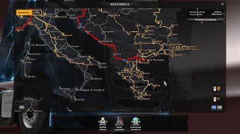 mod map game euro truck simulator 2 polish city names v2 2 mod ets2 mod