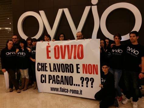 ovvio arredamenti roma roma est protesta dei lavoratori di ovvio e brek