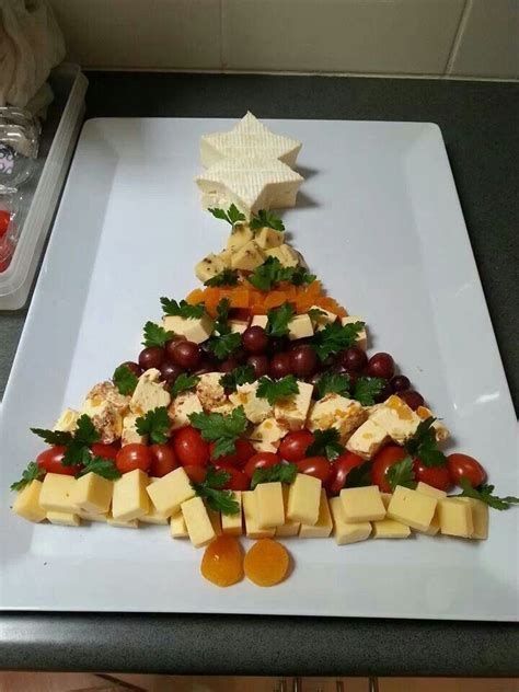 cheese platter christmas tree favorite recipes pinterest