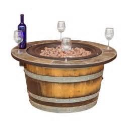 How To Light A Wood Fire Pit - wine barrel fire pit wine barrel furniture