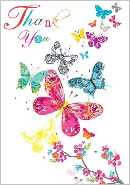 Butterfly Thank You Card Template by Smiling Thank You Butterfly Clipart Clipground