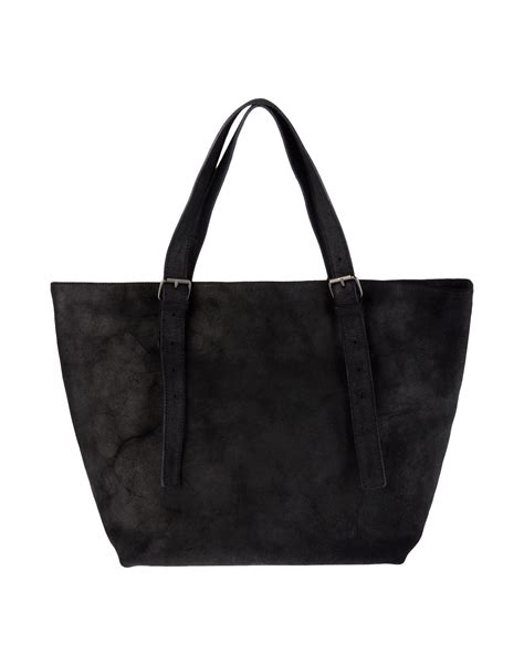 Maison Martin Margiela Bags by Mm6 By Maison Martin Margiela Large Leather Bag In Black