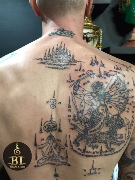 traditional thai tattoo 1088 best sak yant images on sak yant